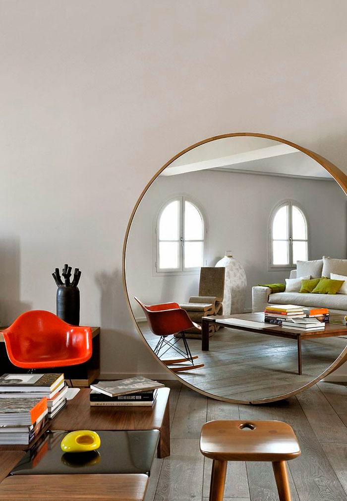 Trucos para decorar espacios peque os Espejos pequenos pared